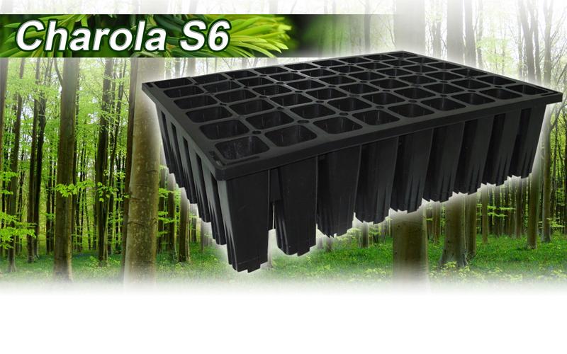 Charola S6, charola germinadora